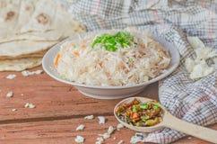 Homemade sauerkraut salad Stock Image