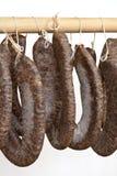 Homemade sausage Stock Photo