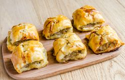 Free Homemade Sausage Rolls Stock Images - 38538494