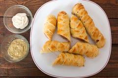Homemade Sausage Snack Stock Photos
