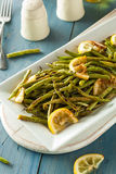 Homemade Sauteed Green Beans Stock Photos