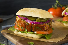 Homemade Savory Meatloaf Sandwich Royalty Free Stock Photo