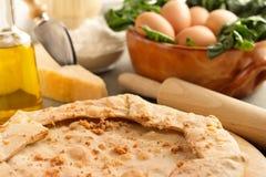 Homemade savory pie Stock Image