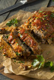 Homemade Savory Spiced Meatloaf Royalty Free Stock Photography