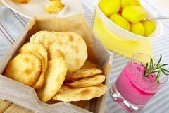 Scandinavian food Stock Images