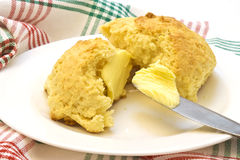 Homemade scones Royalty Free Stock Photography