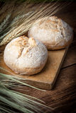 Homemade scones made with rye flour. Royalty Free Stock Image