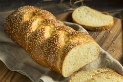 Homemade Sesame Challah Bread Royalty Free Stock Images