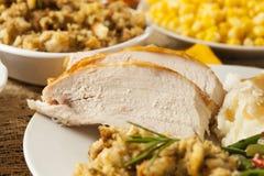 Homemade Sliced Turkey Breast Stock Image