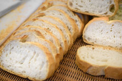 Homemade slided bread Royalty Free Stock Image