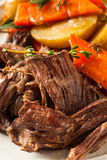 Homemade Slow Cooker Pot Roast Royalty Free Stock Images