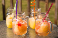 Homemade Slush Royalty Free Stock Photography
