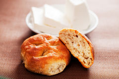 Homemade small breads Royalty Free Stock Images