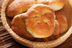 Homemade small breads Stock Photo