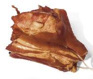 Homemade smoked ham Royalty Free Stock Photo
