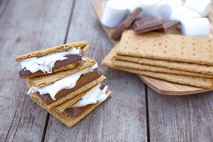 Homemade Smores Royalty Free Stock Images