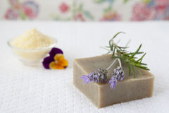 Homemade Soap Royalty Free Stock Photo