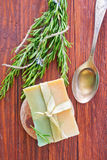 Homemade soap Royalty Free Stock Photos