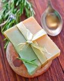 Homemade soap Stock Photos