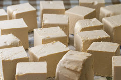 Homemade soap. Several pills of homemade soap Stock Image