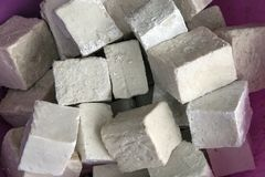 Homemade soaps. Handmade organic olive oil soaps royalty free stock photo