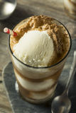 Homemade Soda Black Cow Ice Cream Float Royalty Free Stock Images
