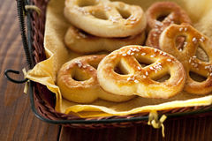Homemade Soft Pretzels Royalty Free Stock Photo