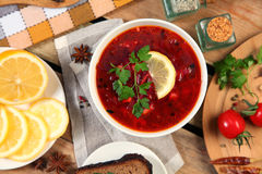 Homemade soup Royalty Free Stock Photo