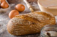 Homemade sourdough bread rustic Stock Image