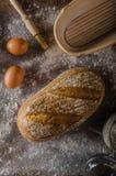Homemade sourdough bread rustic Stock Photos
