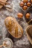 Homemade sourdough bread rustic Stock Photo
