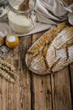 Homemade sourdough bread Royalty Free Stock Image