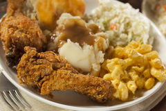 Homemade Southern Fried Chicken Stock Image