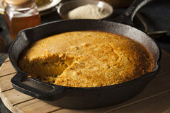 Homemade Southern Style Cornbread Stock Photography
