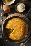Homemade Southern Style Cornbread Royalty Free Stock Photography