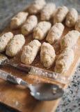 Homemade spanish croquettes Stock Photo