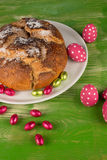 Homemade Spanish Easter cake Royalty Free Stock Image