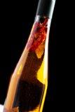 Homemade spice oil Stock Photos