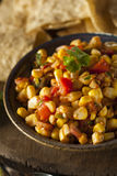 Homemade Spicy Corn Salsa Royalty Free Stock Image
