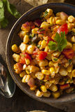 Homemade Spicy Corn Salsa Royalty Free Stock Photography