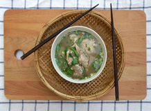 Homemade spicy pork rib soup Royalty Free Stock Images
