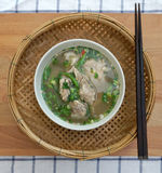 Homemade spicy pork rib soup Royalty Free Stock Image