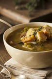 Homemade Split Pea Soup Stock Images