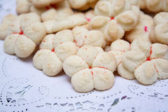 Homemade Spritz Cookies Stock Photography