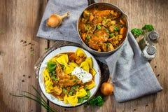 Homemade stew Stock Photos