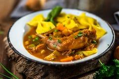 Homemade stew Stock Photography