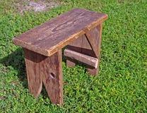 Homemade stool Stock Image