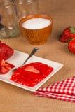 Strawberry marmalade Royalty Free Stock Photo
