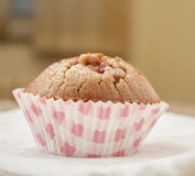 Homemade strawberry and orange muffins Stock Images