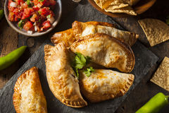 Homemade Stuffed Chicken Empanadas Royalty Free Stock Photos